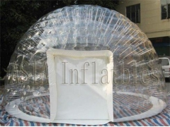 Double Layers Clear Inflatable Bubble Tent