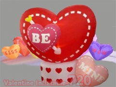 Inflatable Animated Hearts