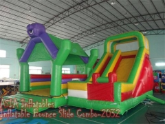 4 In 1 Bounce House Slayt Combo