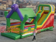4 In 1 Jungle Bounce House Slayt Combo
