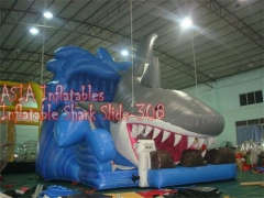 Giant Inflatable Shark Slide