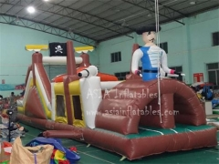 15' Pirate Ship Slide & Obstacle Combo