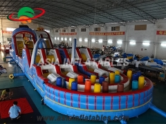 inflatable Slide & Obstacle Combo