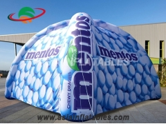 Fantastic Inflatable Spider Dome Igloo Tents with Custom Digital Printing